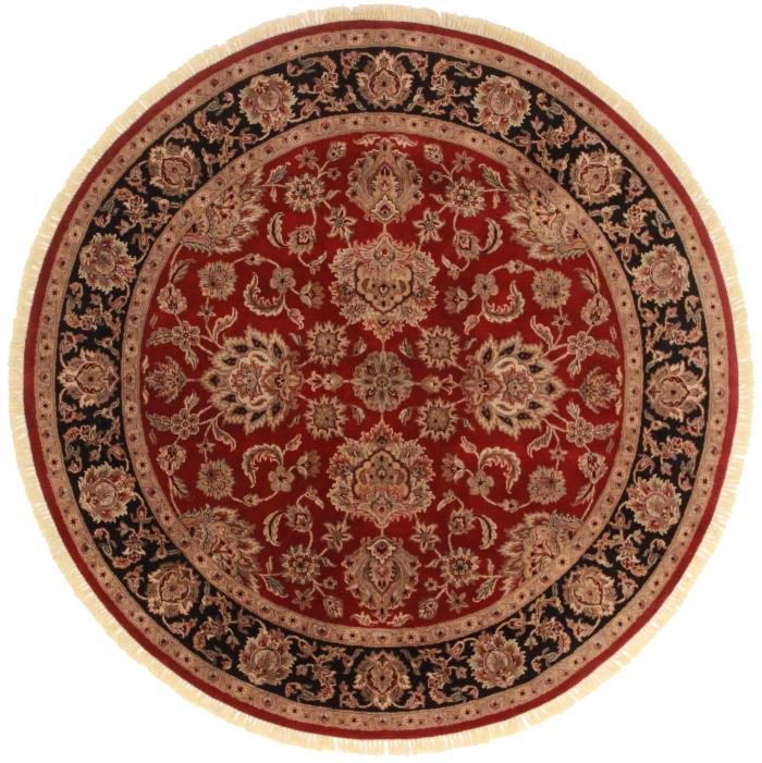8 Feet Round Persian Design Rug 13745