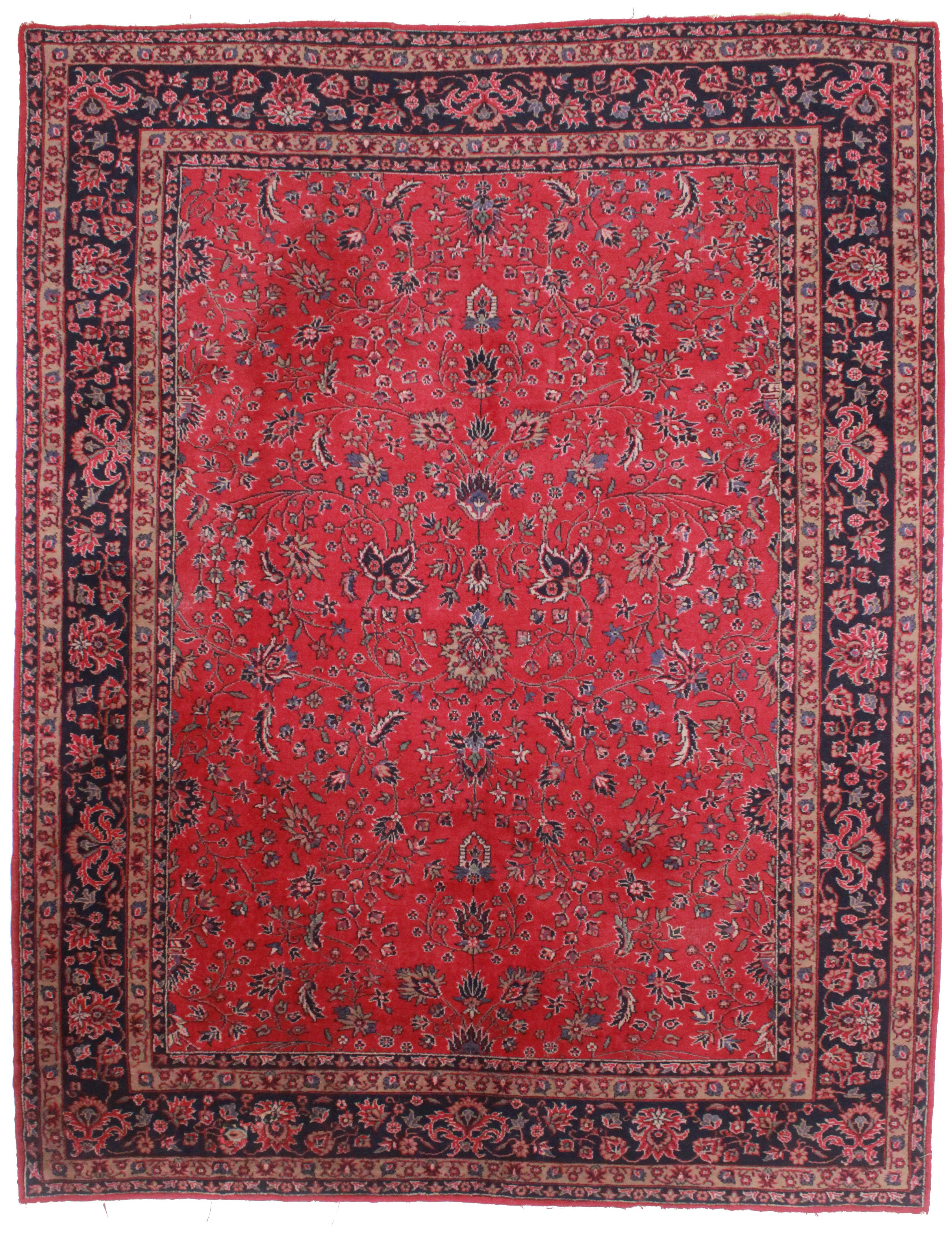 9 X 12 Antique Turkish Sparta Rug 3251 Exclusive