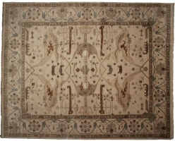 Indian 12 x 15 Area Rug 14219