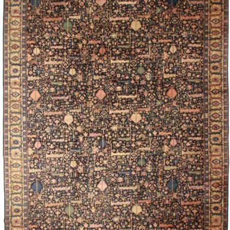 Antique Agra Rug 11807