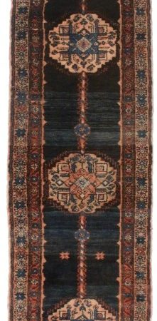 Antique Persian Malayer Runner 3x15 Rug 14247