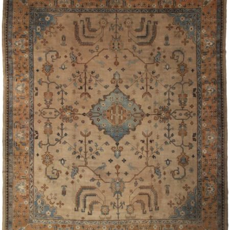 Antique Turkish Oushak 12 x 15 Rug 13224