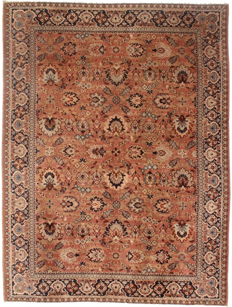 European oushak 9x13 rug 14246 exclusive oriental rugs for What size rug for 12x12 room