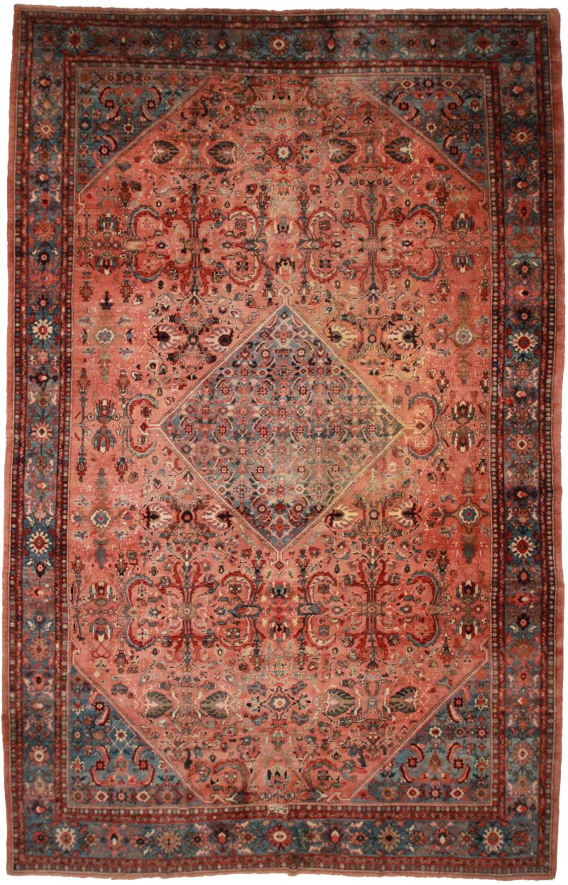Persian Sultanabad 12 x 18 Rug 14099