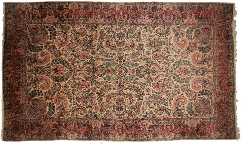 Persian Kerman 12x20, Rug 10175
