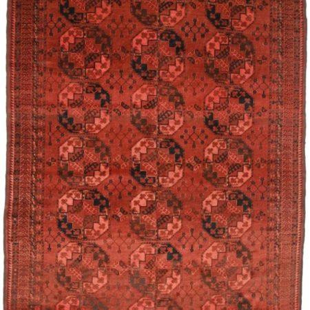 Afghan Turkmen 7x14 Rug 9290