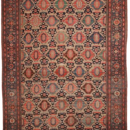 Antique Persian Hamedan 11 x 19 Rug 9809