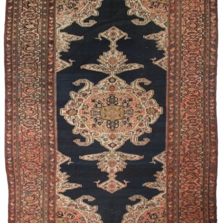 Antique Persian Hamadan 12x15 Rug 2527