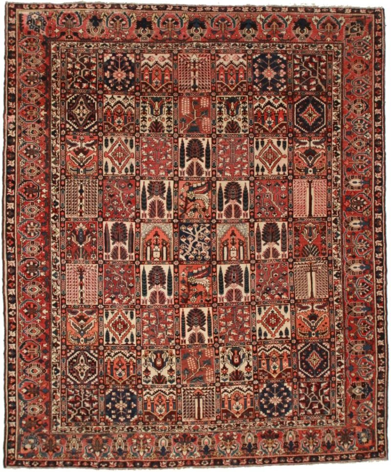 Persian Baktiari 12x14 Rug 14187