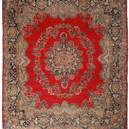 Antique Persian Kerman 12x14 Rug 31