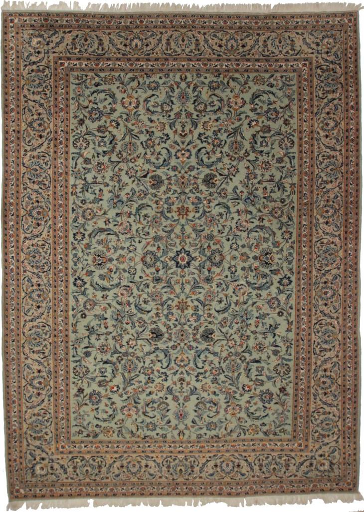 Persian Kashan 10x13 Rug 137