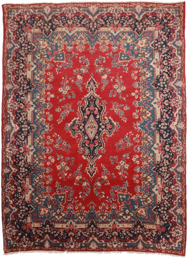 Persian Yazd 10x13 Rug 174