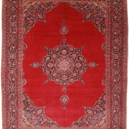 Antique Persian Kashan 11x14 Rug 1194