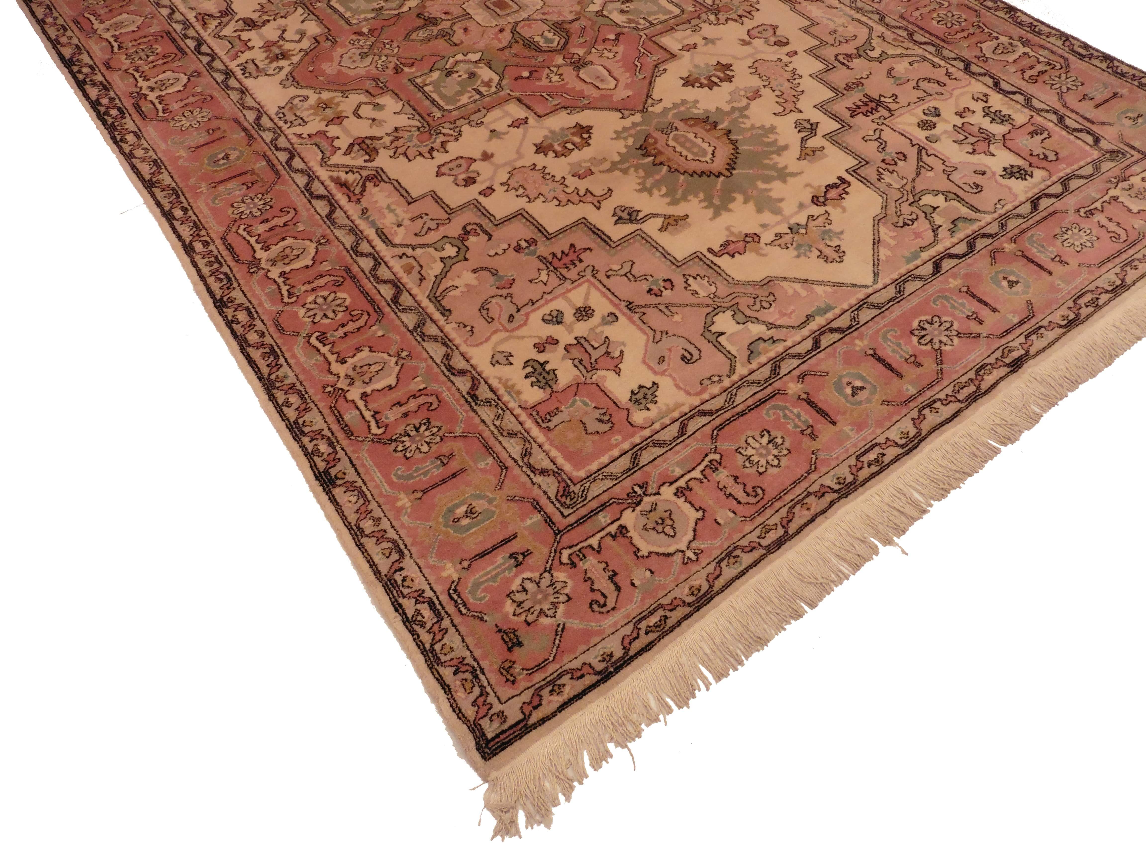Turkish 8x10 Wool Oriental Rug 1866