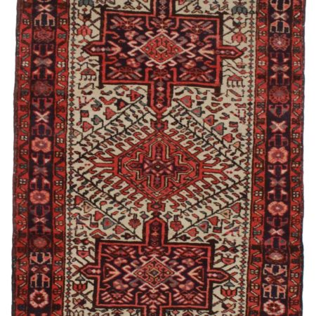 3 x 11 Persian Heriz Wool Runner 3614