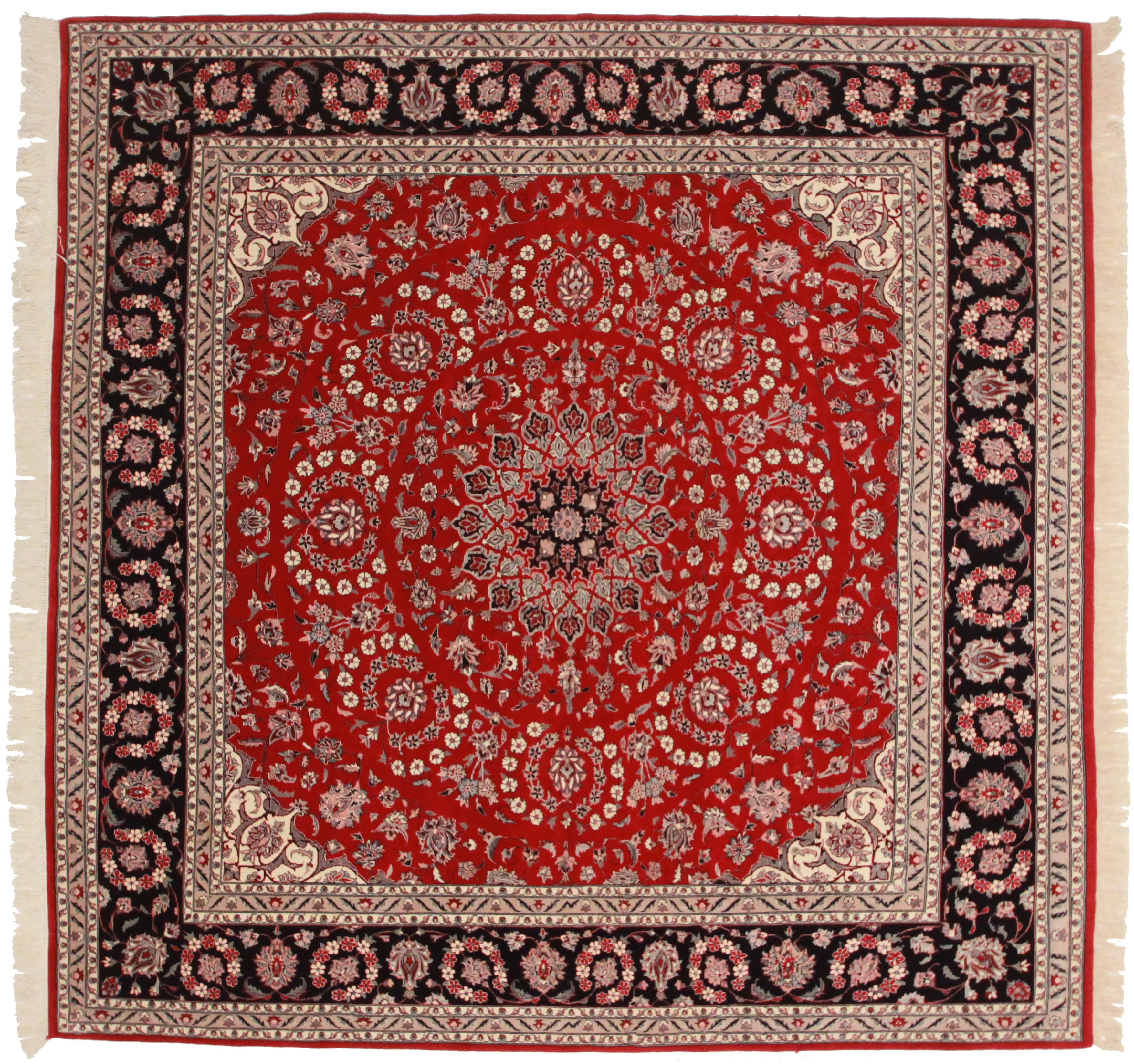 10x10 Square New Oushak Oriental Wool Area Rug: Square Pakistani 8×8 Wool Oriental Rug 5720