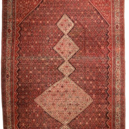 Antique Persian Malayer 14x30 Wool Oriental Rug 5725