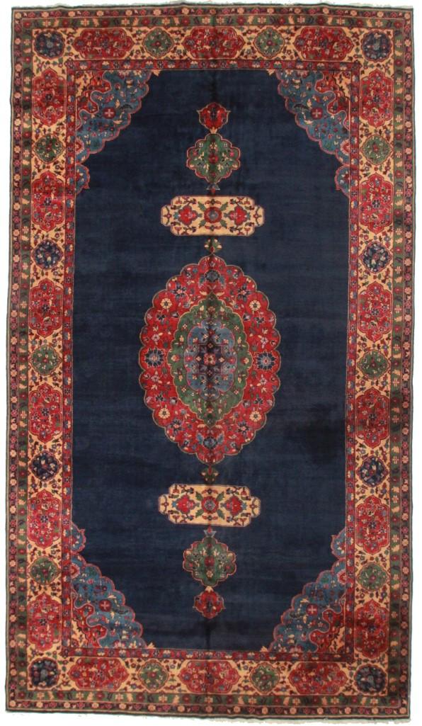 Antique Turkish 10x18 Wool Oriental Rug 6470