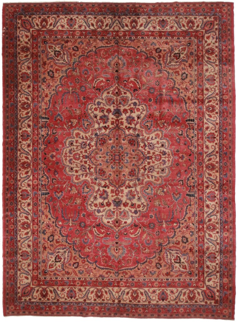 Antique Turkish 11x14 Rug 986