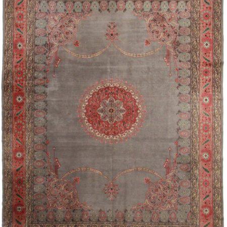 Antique Turkish 11x14 Wool Oriental Rug 7481