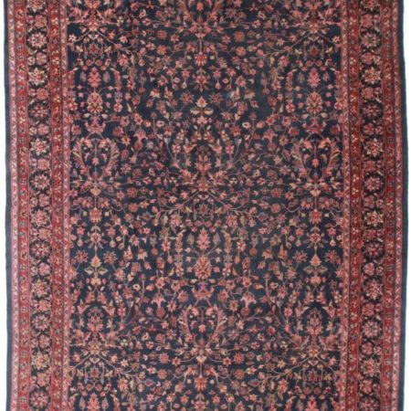 Antique Turkish 11x19 Wool Rug 8188