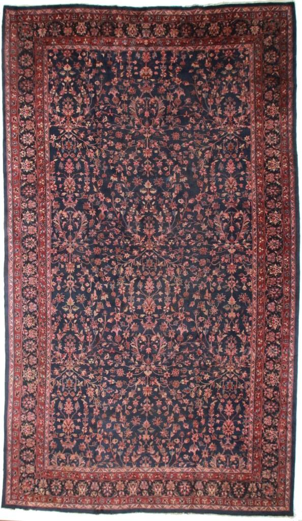 Antique Turkish 11x19 Wool Rug 8188