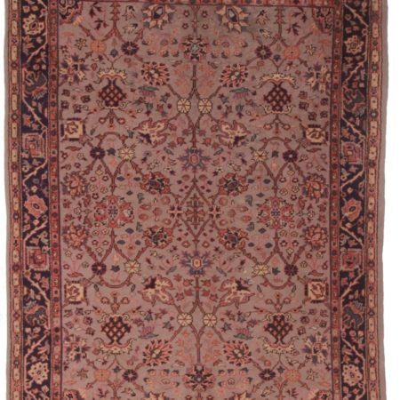 Antique Turkish 7x9 Wool Oriental Rug 9019