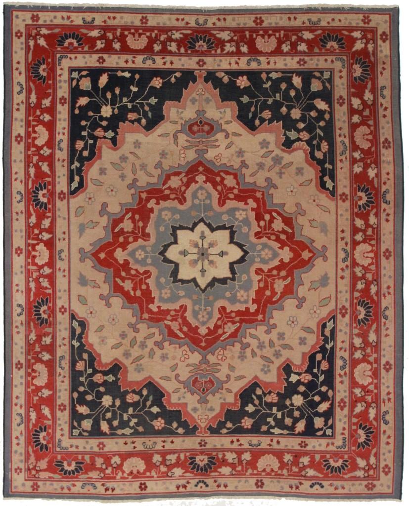 Antique Turkish 8x10 Wool Oriental Rug
