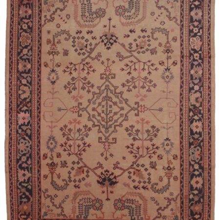 Antique Turkish Oushak 9x12 Wool Oriental Rug 3675