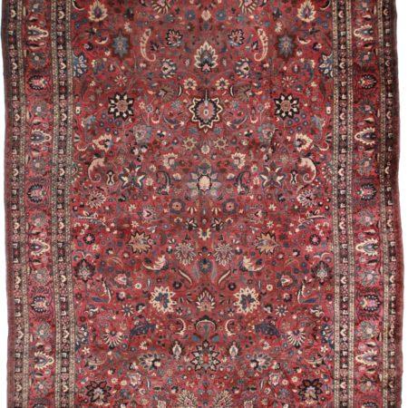 Large Persian Mashad 13x19 Wool Oriental Rug 3452