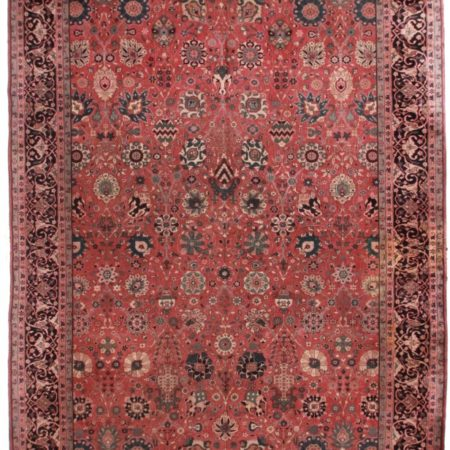 Large Turkish 12x25 Wool Oriental Rug 5280