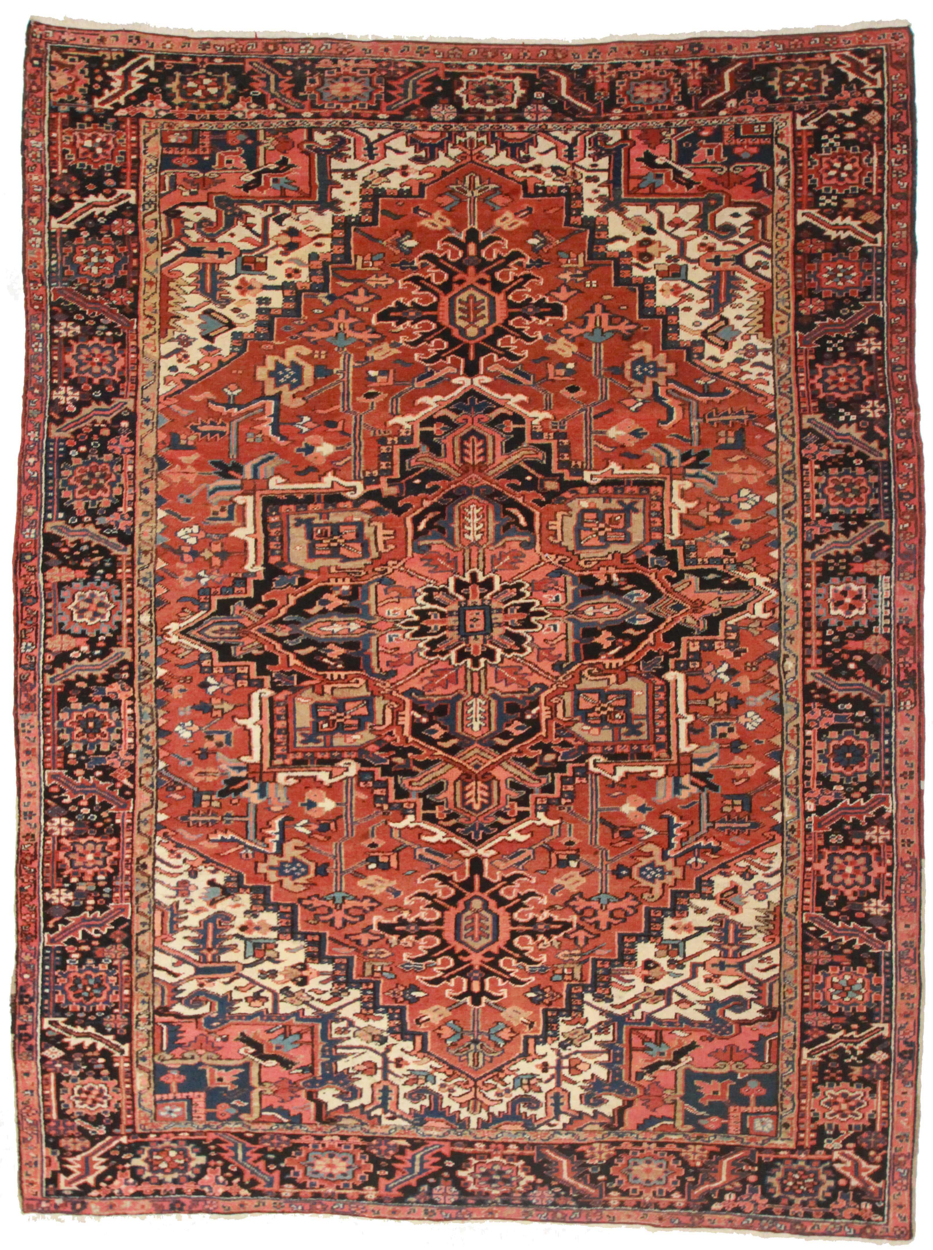 Persian Heriz 8 X 10 Wool Oriental Rug 7084 Exclusive Oriental Rugs