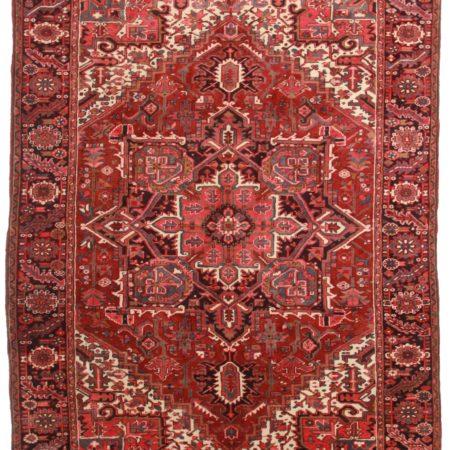 Persian Heriz 8 x 11 Wool Oriental Rug 8069