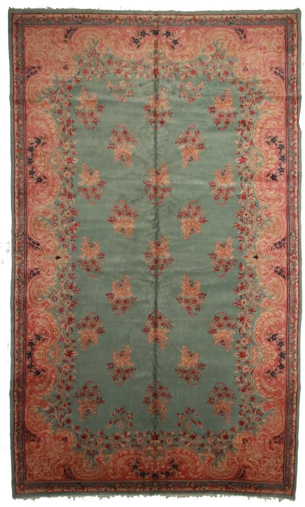 Persian Kerman 12x20 Wool Oriental Rug 2531