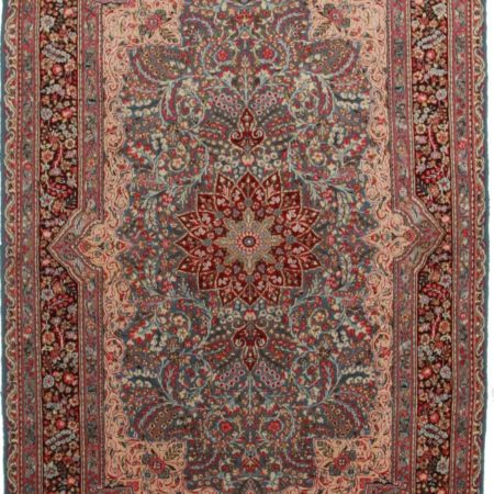 Persian Kerman 7x10 Wool Oriental Rug 8806