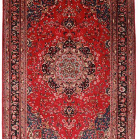 Persian Mashad 6x10 Wool Oriental Rug 7270
