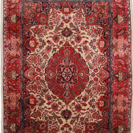 Persian Mashad 8 × 11 Wool Oriental Rug 2332