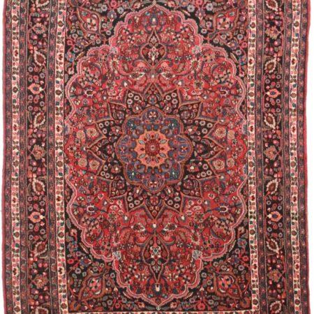 Persian Mashad 8x11 Wool Oriental Rug 3296