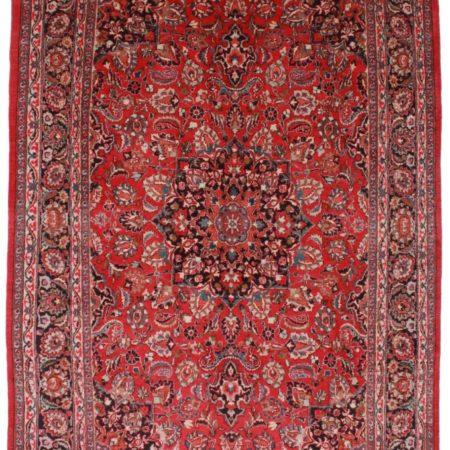 Persian Mashad 8x12 Wool Oriental Rug 2336