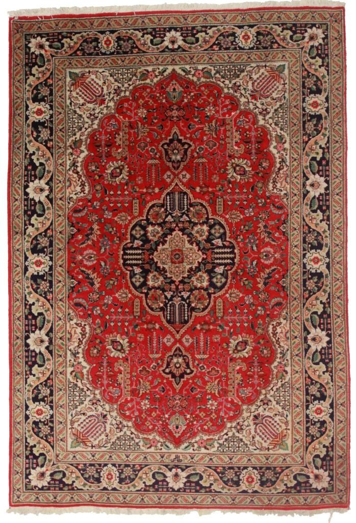 Persian Tabriz 6x9 Wool Oriental Rug 5264