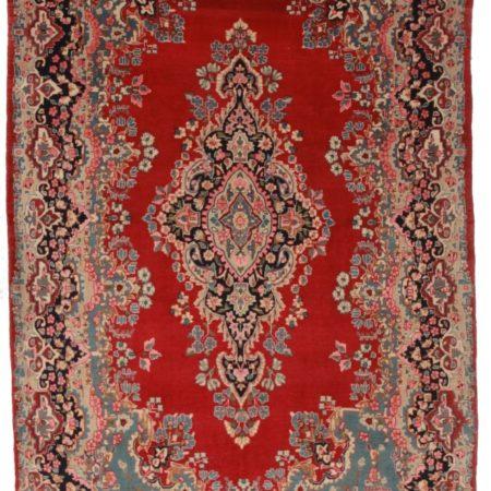Persian Yazd 7x10 Wool Oriental Rug 2728