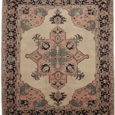 Turkish 9 x 10 Wool Oriental Rug 3820