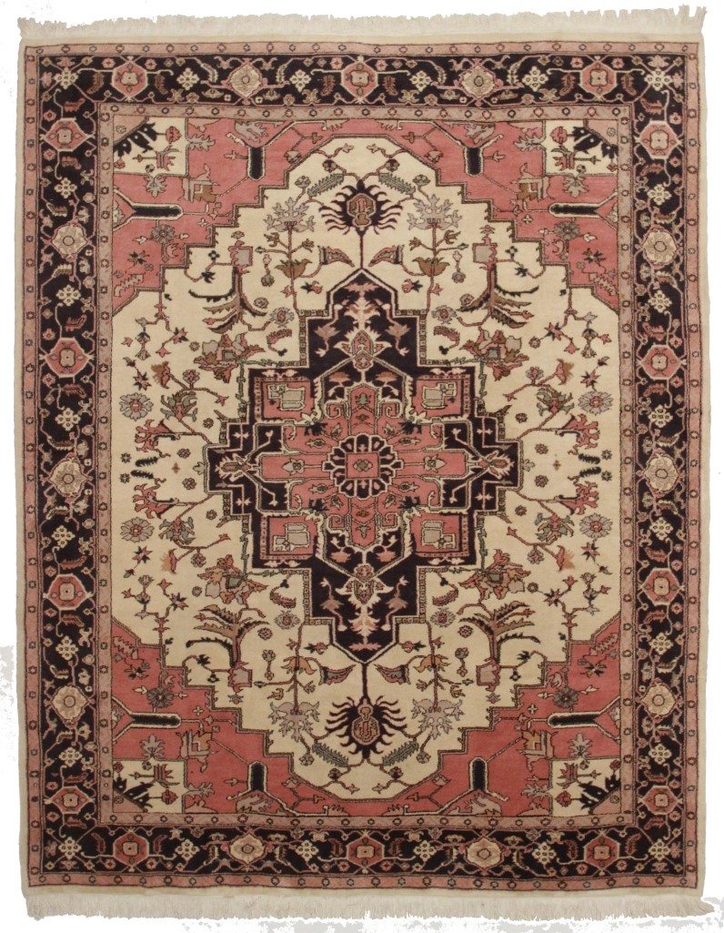 Turkish Heriz 8x10 Wool Oriental Rug 1872