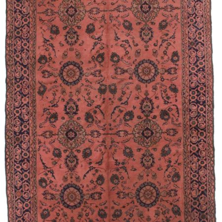 Vintage Turkish 7x12 Oriental Rug 4094