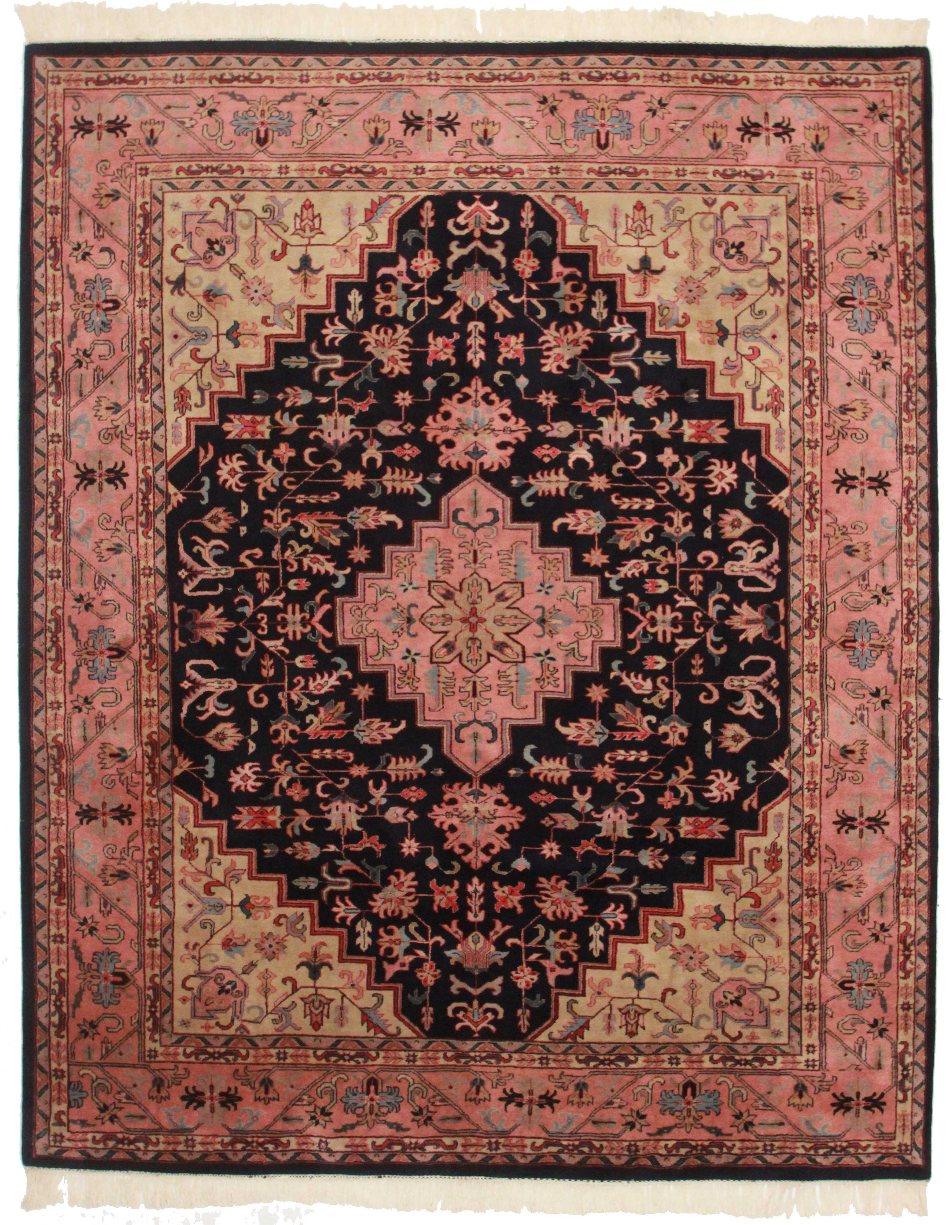 Vintage Indian 8 X 10 Wool Rug 9055 Exclusive Oriental Rugs