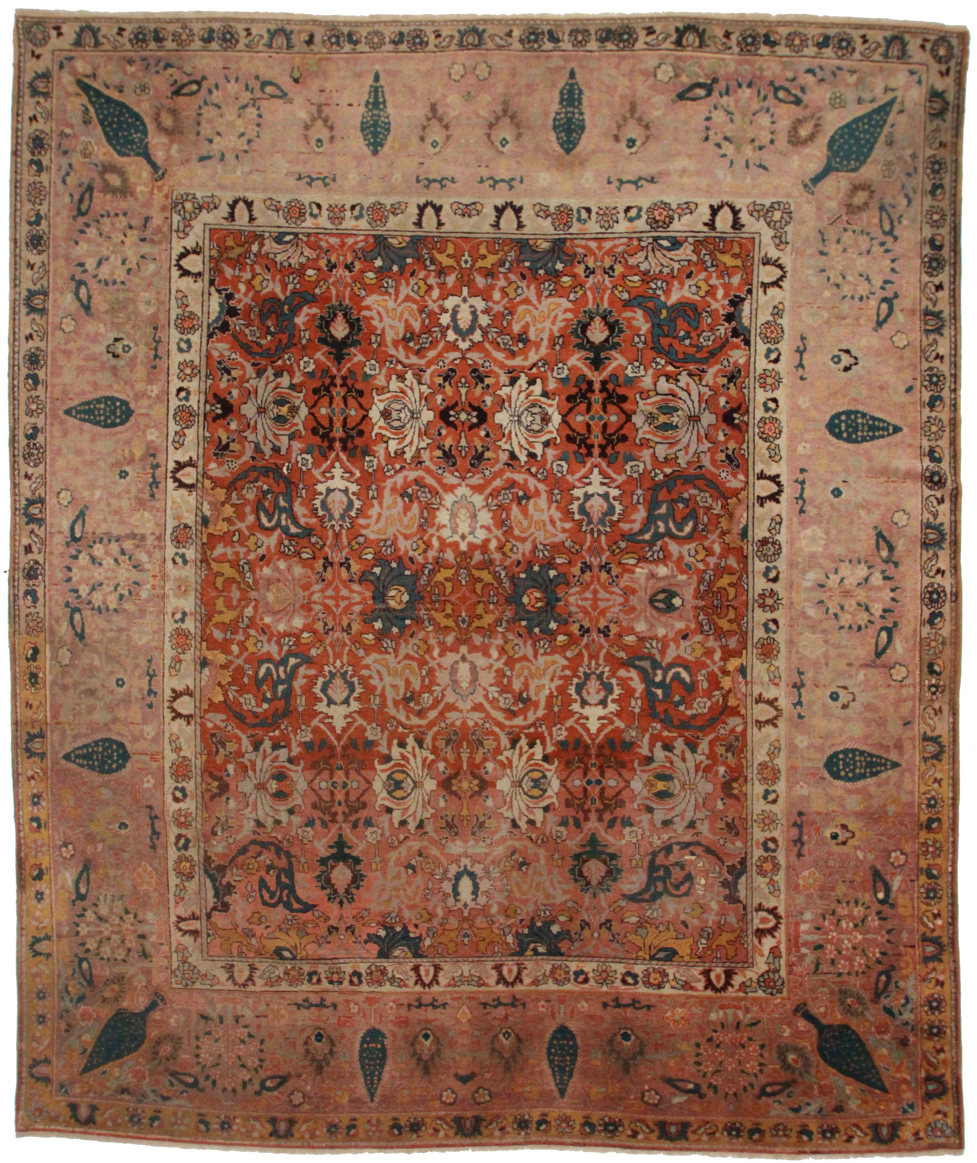 Antique Persian Sultanabad 11 x 13 Area Rug 10369  Exclusive Oriental Rugs