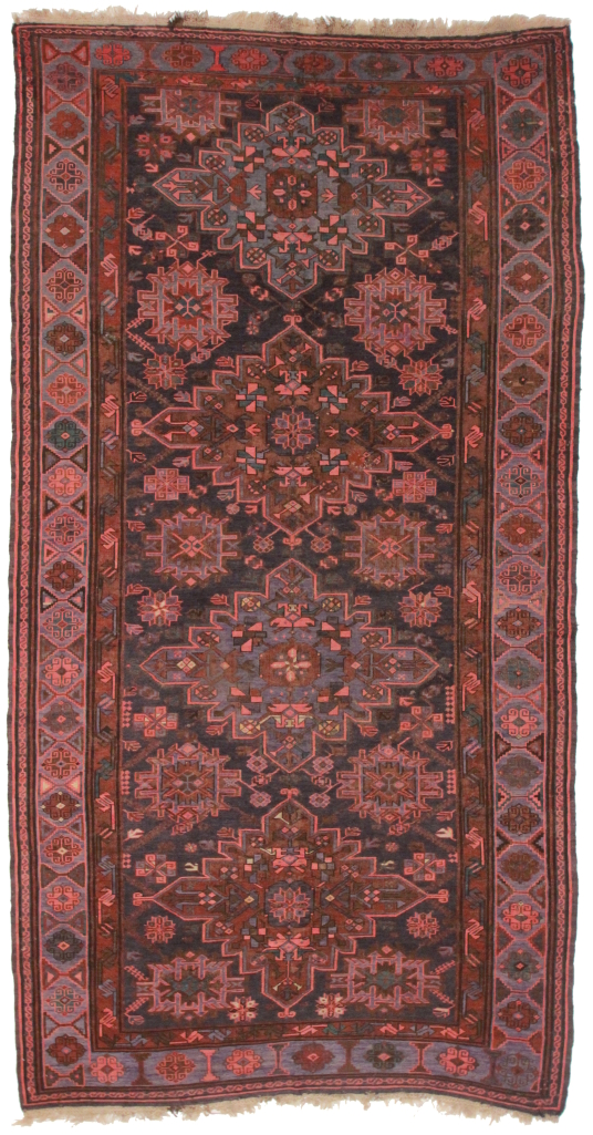 Tribal Antique Caucasian Soumak 7 x 10 Rug 50270