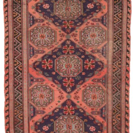 Tribal Antique Caucasian Soumak Rug 3998