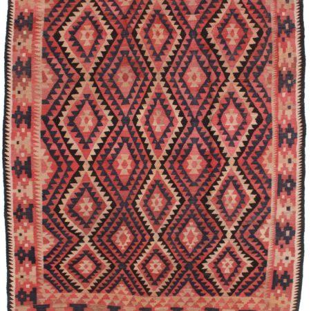Vintage Afghan Hand Woven Kilim Rug 5669