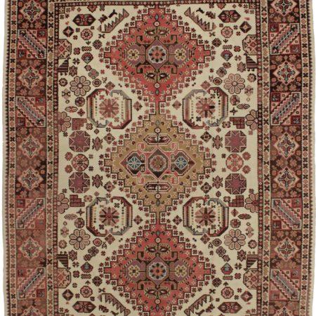 Vintage Turkish Kilim 7 x 10 Wool Rug 7022